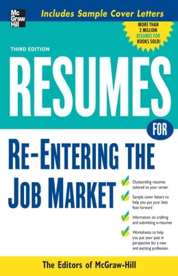 Book Resumes for Re-Entering the Job Market by McGraw-Hill Education