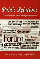 Public Relations: Critical Debates and Contemporary Practice by Jacquie L'Etang
