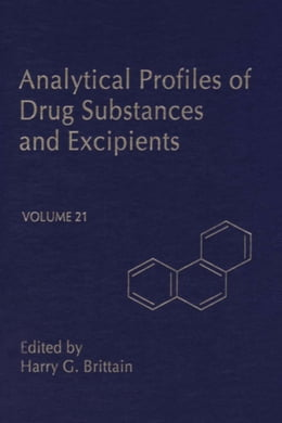 Book Profiles of Drug Substances, Excipients and Related Methodology by Brittain, Harry G.
