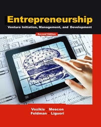 Entrepreneurship: Venture Initiation, Management and Development