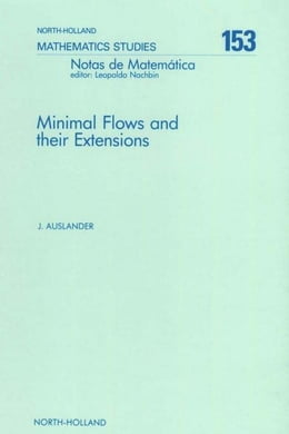 Book Minimal Flows and Their Extensions by Auslander, J.