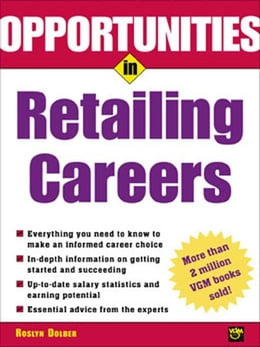 Book Opportunities in Retailing Careers by Dolber, Roslyn