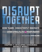 Developing Sustainable Business Models (Chapter 11 from Disrupt Together) by Stephen Spinelli Jr.