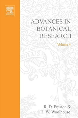 Book Advances in Botanical Research by Preston, R.D.