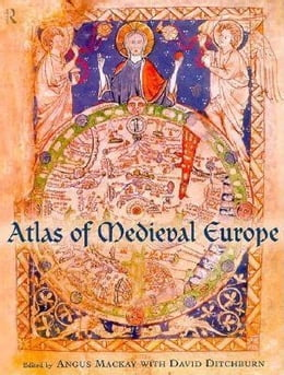 Book Atlas of Medieval Europe by Ditchburn, E. D.