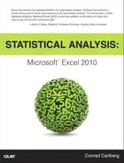 Statistical Analysis: Microsoft Excel 2010: Microsoft Excel 2010