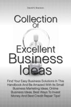 Collection Of Excellent Business Ideas: Find Your Easy Business Solutions In This Handbook And Be Amazed With Its Small Business Marketing I by David K. Brannon