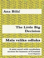 The Little Big Decision / Mala velika odluka: A mini novel with vocabulary section for learners of Croatian by Ana Bilic