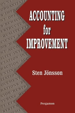 Book Accounting for Improvement by Jonsson, Sten