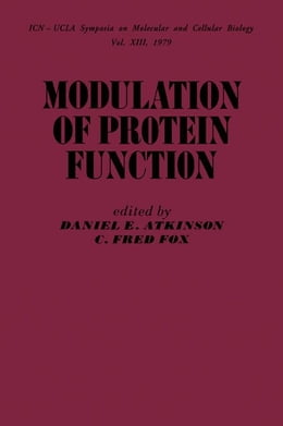 Book Modulation of Protein Function by Atkinson, Daniel