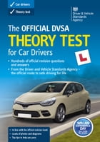 The Official DVSA Theory Test for Car Drivers (18th edition) by DVSA The Driver and Vehicle Standards Agency