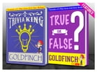 The Goldfinch - True or False? & Trivia King!: Fun Facts and Trivia Tidbits Quiz Game Books by G Whiz
