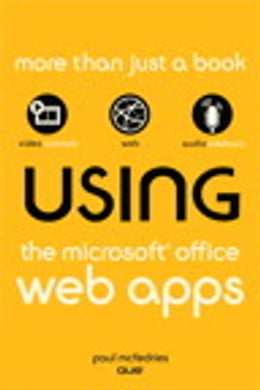 Book Using the Microsoft Office Web Apps by Paul McFedries