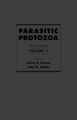 Book Parasitic Protozoa by Kreier, Julius P.