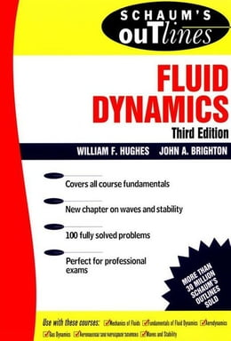 Book Schaum's Outline of Fluid Dynamics by Hughes, William