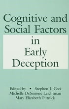 Cognitive and Social Factors in Early Deception