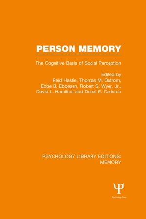 Person Memory (PLE: Memory) The Cognitive Basis of Social Perception