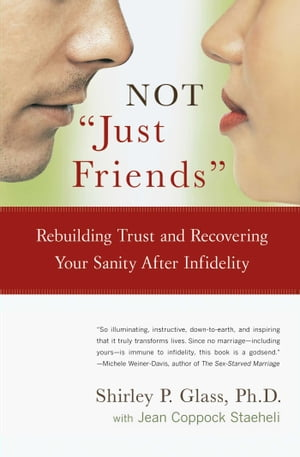 """NOT """"Just Friends"""" Rebuilding Trust and Recovering Your Sanity After Infidelity"""