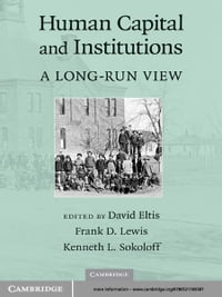 Human Capital and Institutions: A Long-Run View