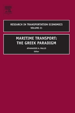 Book Maritime Transport: The Greek Paradigm by Shahin, Mamdouh