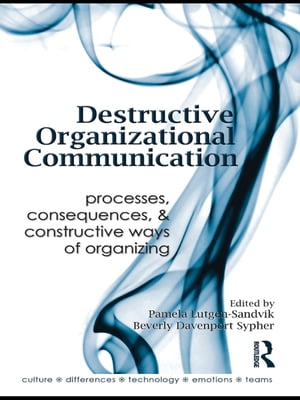 Destructive Organizational Communication Processes,  Consequences,  and Constructive Ways of Organizing