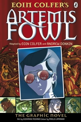 Book Artemis Fowl: The Graphic Novel by Andrew Donkin