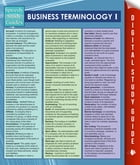 Business Terminology I (Speedy Study Guides)