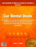 Car Rental Deals by Lewis L. Fordly