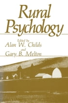 Rural Psychology by Alan W. Childs