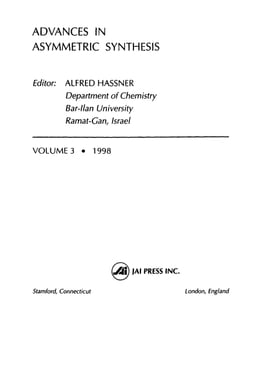 Book Advances in Asymmetric Synthesis by Hassner, Alfred