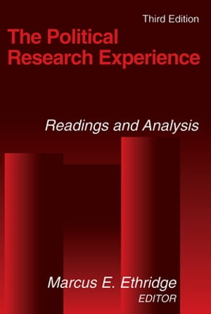 The Political Research Experience: Readings and Analysis Readings and Analysis