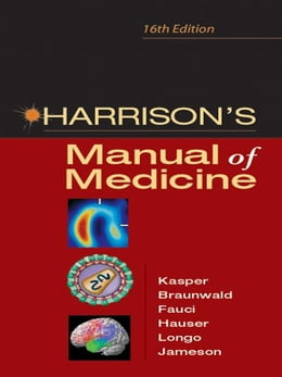 Book Harrison's Manual of Medicine: 16th Edition by Kasper, Dennis L.