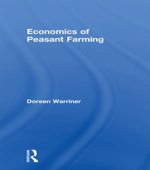 Economics of Peasant Farming