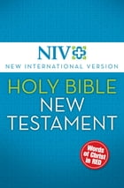 NIV, Holy Bible, New Testament, eBook, Red Letter Edition by Zondervan
