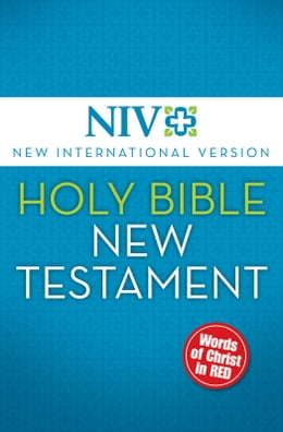 Book NIV, Holy Bible, New Testament, eBook, Red Letter Edition by Zondervan