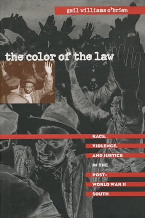 The Color of the Law Race,  Violence,  and Justice in the Post-World War II South