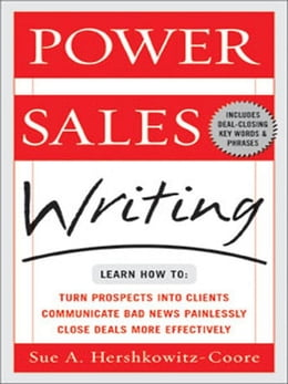 Book Power Sales Writing by Hershkowitz-Coore, Sue