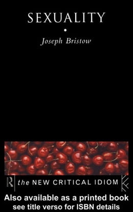Book Sexuality by Bristow, Joseph