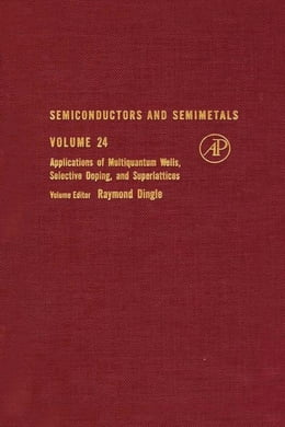 Book Semiconductors and Semimetals by Dingle, Raymond