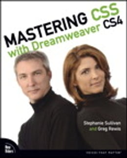 Book Mastering CSS with Dreamweaver CS4 by Stephanie Sullivan