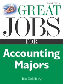 Book Great Jobs for Accounting Majors, Second edition by Goldberg, Jan