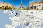 Europe: A Tourist's Guide by Adam Sol