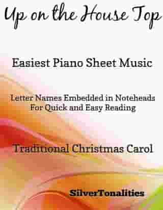 Up on the House Top Easiest Piano Sheet Music