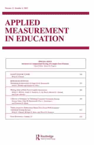 Advances in Computerized Scoring of Complex Item Formats: A Special Issue of Applied Measurement in Education