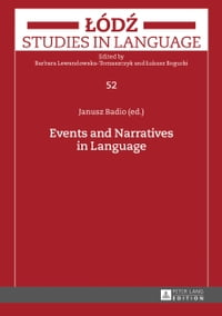 Events and Narratives in Language