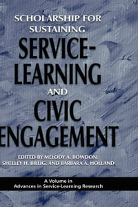 Scholarship for Sustaining Service-Learning and Civic Engagement