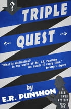 Triple Quest: A Bobby Owen Mystery by E.R. Punshon