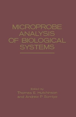 Book Microprobe Analysis of Biological Systems by Hutchinson, Thomas