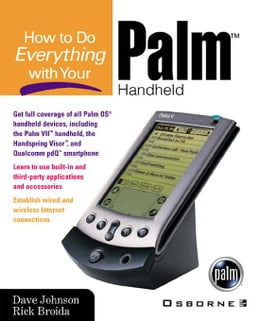 Book How to Do Everything with Your Palm Handheld by Johnson, Dave