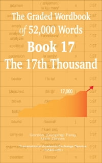 The Graded Wordbook of 52,000 Words Book 17: The 17th Thousand